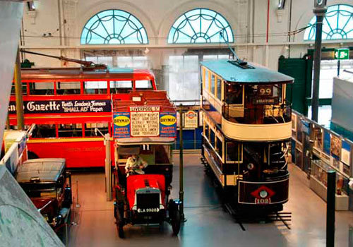 Музей лондонского транспорта