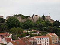 Лиссабона. Алфама, крепость San Jorge