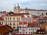 Лиссабона. Алфама. Монастырь Sao Vicente de Fora