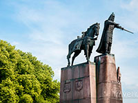 Памятник Гедиминусу