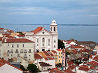 Лиссабон. Церковь Santo Estevao