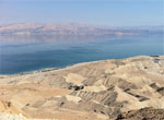 Мертвое море в районе Нахаль Даргот