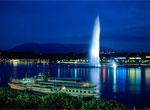 Женева, фонтан Же-д'O