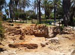 Архелогические раскопки в центре Яффо