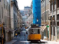 Лиссабон. Знаменитый желтый трамвай