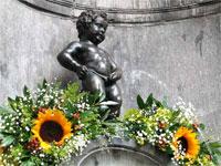 Брюссель - Писающий мальчик