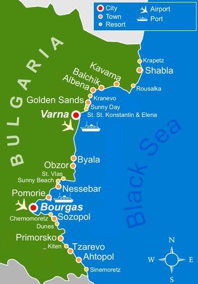 Курорт Дюны, Болгария