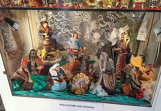Рождественский вертеп в Ватикане