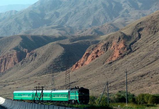 Поезд на Иссык-Куль