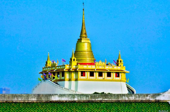 Храм Золотая гора (Ват сакет)