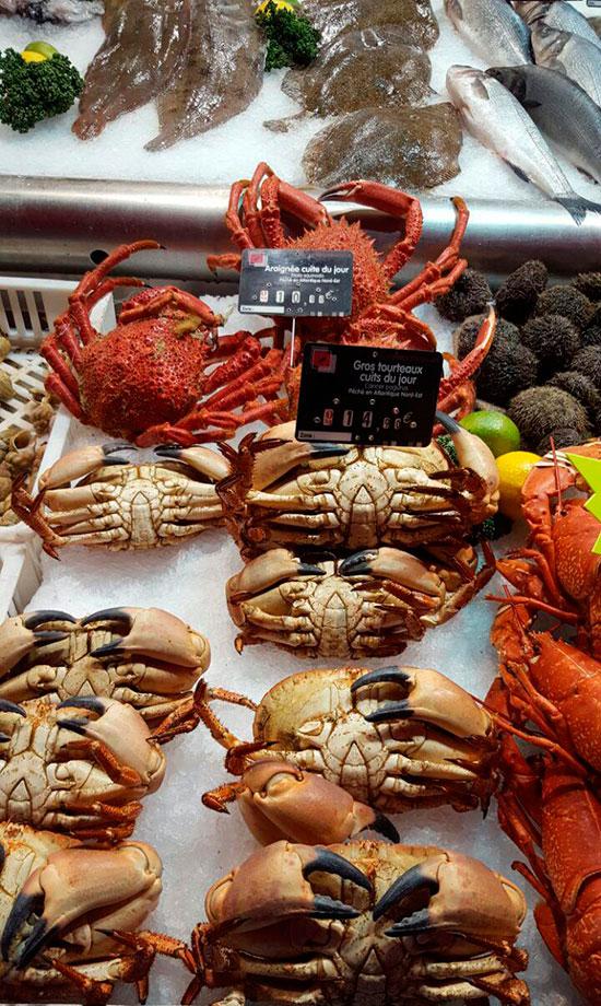 Рынок морепродуктов в Довиле